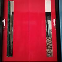 Lemari sliding 2 pintu