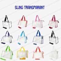 Sling Transparant Diaper Bag 2in1