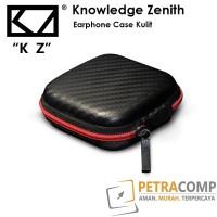 Earphone Case Kulit Zenith Knowledge Hitam - Hitam