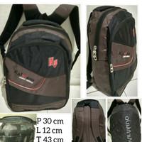 Backpack Ransel laptop kerja/kuliah/Ransel sekolah K75 FREE Raincoat