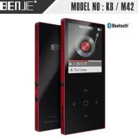 Benjie K8 Bluetooth Portable HIFI DAP / Digital Audio Player - Red