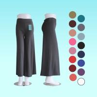 Celana Kulot Jersey wanita