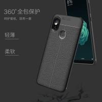 Leather Soft Case Xiaomi Redmi S2, S 2 Casing Silicon Flip Back Cover