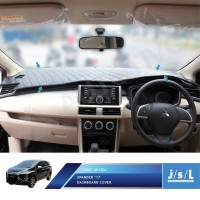 Dashboard Cover Mitsubishi Xpander Semi Kulit Dashmat Karpet Dashboard