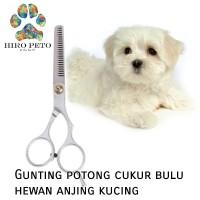 Gunting potong cukur bulu hewan anjing kucing