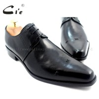 28Menunjuk kaki Handmade Asli Kulit Anak Sapi pakaian Laki-laki Derby