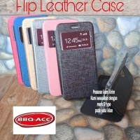 Flip Cover Samsung Galaxy J1 Ace Leather Case Sarung Dompet HP