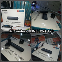 Usb wireless adapter DLINK DWA 123