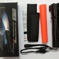 senter swat dan kejut listrik plus laser /stun gun laser/stungun laser