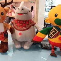 Set Komplit Big Size 10 inch 3in1 Asian Games kaka atung bhin