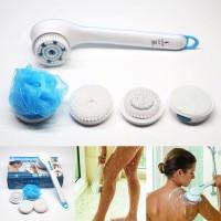 Bath Shower Brush Brush Head Long Handled Sikat Elektrik Badan