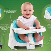 INGENUITY Baby Base SEATER KURSI 2IN 1 Aqua COLOR LITTLE PUMPKINS TOYS