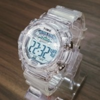 Jam Tangan Transparan Q&Q (Baby-G Skmei Digitec G-Shock)