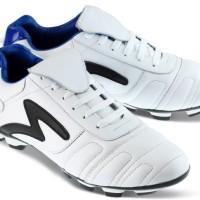 Sepatu Sepak Bola Warna Putih GLF Sepatu Olahraga Bola Kulit Asli ori