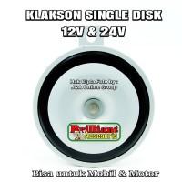 Single Horn Disk - Klakson Engkel Disk - Bisa untuk mobil dan motor