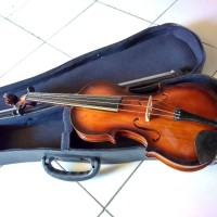 biola/violin coklat klasik