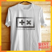 Tshirt Kaos Baju Distro Martin Garrix #3 Putih ( Edm Dwp Dj Rave Party