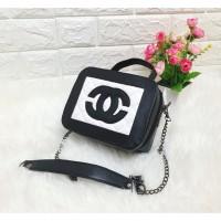 TAS BATAM TAS WANITA IMPORT TAS Chanel Vanity Lunch Box Bag mini ib