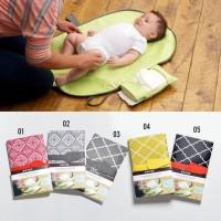 Alas Popok Portable New Baby Diaper Changing Mat Waterproof Changing
