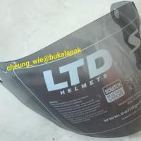 kaca helm ltd avent smoke hitam ori LTD malaysia