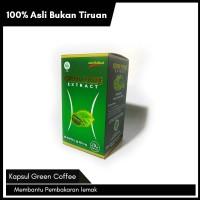 EXTRACT GREEN COFFEE Khasiat dan Kegunaan: Membantu pembakaran lemak