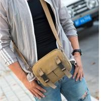 tas selempang kanvas pria sling bag tas slempang cowok travel bag