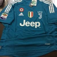 Jersey Baju Kaos Juve Juventus Kiper GK 17 18 Grade Ori Full Patch