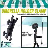 Umbrella Holder Clamp for Tripod/Stand Light