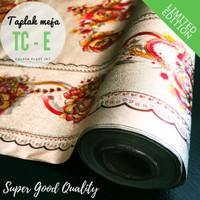 Taplak Meja Makan PVC Tahan Air/Waterproof Quality SUPER Meteran TC-E