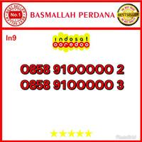 Nomor Cantik Ooredoo IM3 Seri Panca 00000 0858 9100000 2 in9