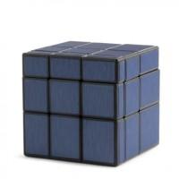 Rubik Mirror 3x3 Qiyi Mirror Cube Blue Black Base