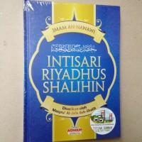 Original | Buku INTISARI RIYADHUS SHALIHIN | Imam An Nawawi | Aqwam
