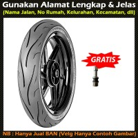 Zeneos ZN 62 RS 160/60-17 Ban Motor Tubeless Soft Compound