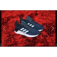 SEPATU ADIDAS RUNNING QUESTAR RIDE NAVY WHITE ORIGINAL BNWB