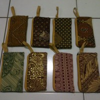 Souvenir dompet batik murah