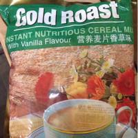 Cereal Gold Roast with Vanilla Flavour Sereal Instant Mix Rasa Vanila