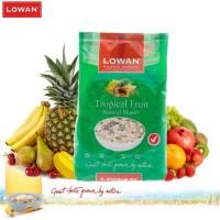 Lowan Tropical Fruit Muesli 500 Gram | Sereal Sarapan Oat