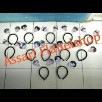 Bando Per Spiral Spring muka ( bisa custom foto lain/logo lain) Kpop