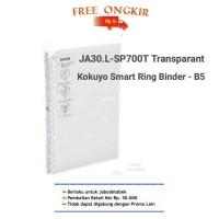 JA30.L-SP700. KOKUYO SMART RING BINDER B5- transparant