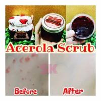 PERAWATAN WAJAH Acerola Cherry Scrub by Littlebaby Murah