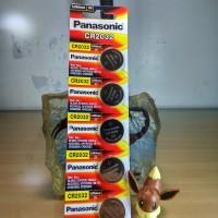 Baterai Panasonic CR2032 (5 pcs)