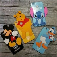 JELLY CASE SOFT CASE GLOSSY KARAKTER 4D TIMBUL FOR IPHONE 5 6