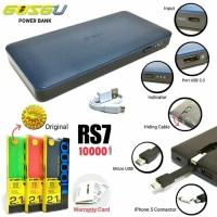 powerbank GUSGU 10000MAH SLIM REAL CAPACITY ORIGINAL GRNSI RESMI 1TH