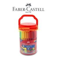 Connector Pen 50 Warna Faber Castell Bucket