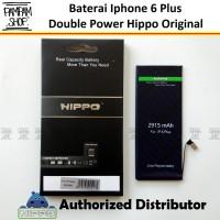 Baterai Hippo Double Power Original Apple Iphone 6+ 6 Plus Batre Ori