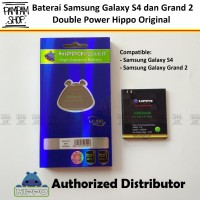 Baterai Hippo Double Power Original Samsung Galaxy S4 I9500 Batre Ori