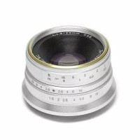Lensa 7artisan 25MM F1.8 For Fuji Silver