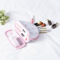 2 Layer Travel Make up Bag Cosmetic Pouch