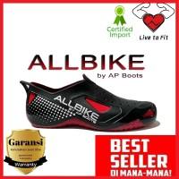 Sepatu Sepeda Motor ALL Bike AP Boots Hujan ALLBIKE 100% Original