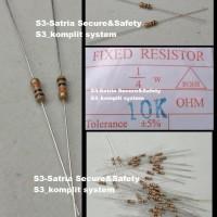 Coklat 10K Resistor 1/4 W watt 5% 10 K Ohm